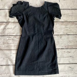 Arden.B Stylish jean dress with cap sleeves